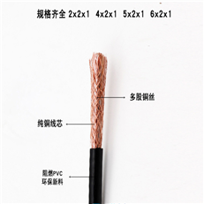 YZW3*6+1*4中型橡套软电缆