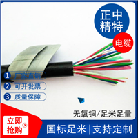 MHYVP直销屏蔽通信电缆 1*4*7/0.37