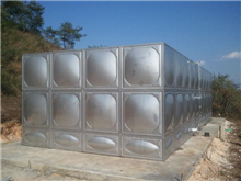 陵水县不锈钢水箱安装厂家