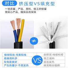 中型橡套软电缆YZW