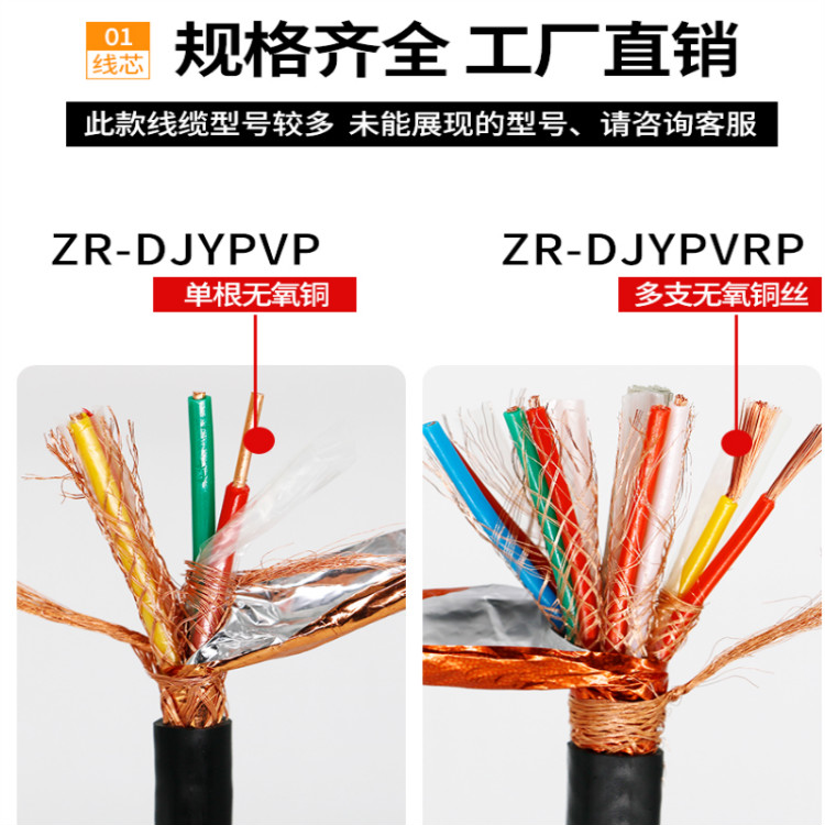 MKVVP-16*1.5矿用控制屏蔽电缆
