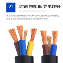 双护套阻燃电缆ZA-RVV