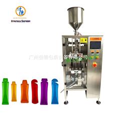 JD-BY50Y 全自动背封异形能量饮料液体包装机
