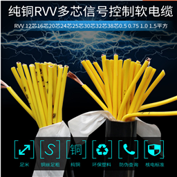 MHYVP电缆1*5*7/0.37MHYV矿用监控监测电缆