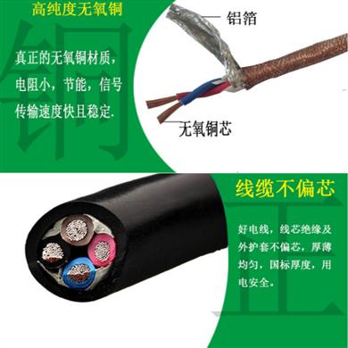 NHKVVP-3*1.5mm²天车控制软电缆