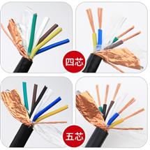 聚塑料绝缘控制电缆KVVR KVVRP