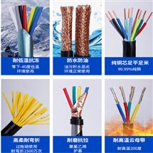 带钢丝绳电缆KVVRC 14×1.5