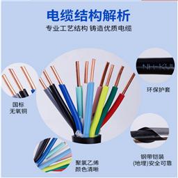 MYP-3*6+1*6矿用屏蔽橡套电缆 MYP屏蔽电缆