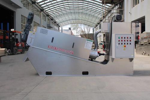 叠螺式污泥脱水机多年生产经验,丰富项目经验,欢迎来厂考察