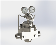 YQG876系列气体管路减压器