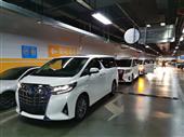 香港牌丰田埃尔法租车,澳门牌保姆车租赁