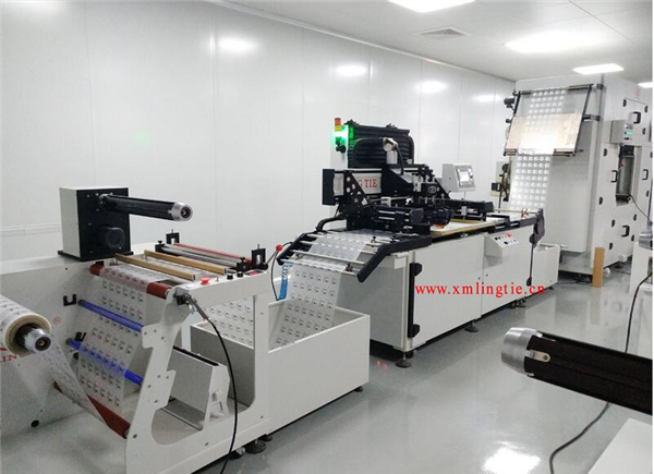 全自動卷對卷絲網印刷機