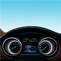 广泛应用于汽车电子仪表
