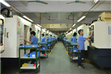 CNC production workshop