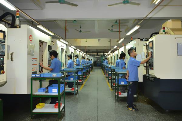CNC生产车间