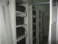 松下蓄电池北京地铁4号线安装现场