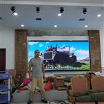 湖北天门市 室内P3全彩LED显示屏 舞台大屏幕