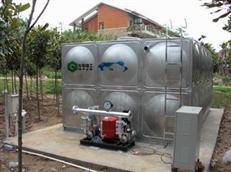 广州从化不锈钢生活水箱安装完工