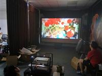 立影偏光3D双机双投影系统客户案例一