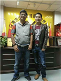 The customer has visited WAFU Smart Lock Factory