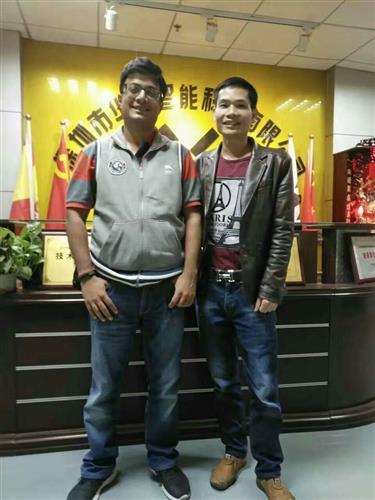 The customer has visited WAFU Smart Lock Factory