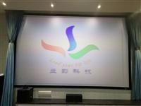 【教育投影】郑州某大学物理实验室投影客户案例