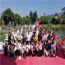 深圳乐湖生态园:水上舞台表演SHOW