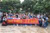 玉龙学校民乐班冒雨前来深圳乐湖生态园参加农家乐趣味运动会