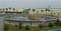 污水处理设备,中山大涌华兴染织厂