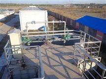 污水处理设备,山东长山污水处理厂工程