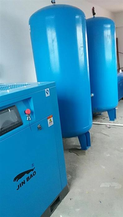 湖南臺資企業使用JINBAO30P永磁變頻螺桿空壓機