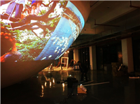 【工程投影】艺术展厅展示客户案例