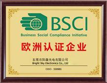 BSCI認證