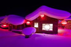 景區雪村燈光亮化工程