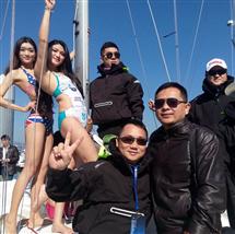 2014年公司赞助海上丝绸之路赛