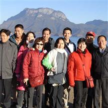 2015年公司组织泸沽湖活动