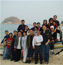 2014年公司组织户外拓展活动