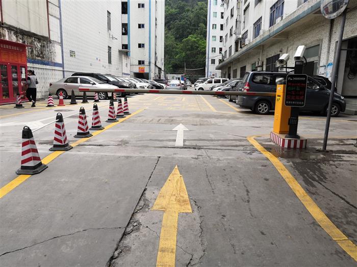 朱坳第三工业区停车场创新改造升级