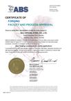 美国ABS船级社证书