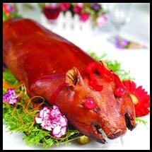 昆明美食烤乳猪