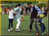背靠背运球-适合亲子参与的项目班级亲子游首选