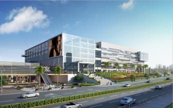 南海区市民服务中心内部装配工程
