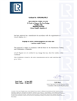 英国劳式LR船级社证书:炼钢+锻造