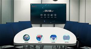 触摸液晶拼接屏一体机应用江苏省苏州市会议室
