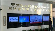 税务局多媒体展厅多点互动软件应用触摸屏拼接屏一体机