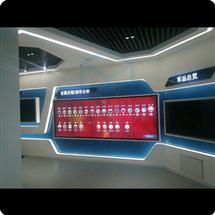 企业展厅展览展示鹏尔多点互动软件触摸屏拼接屏