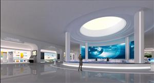 文化展览馆大尺寸拼接屏触摸屏