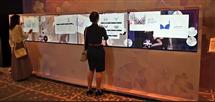 大厅展示互动投影触摸屏软件,桌面展示多点互动软件