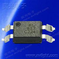 EL817S2(C)(TU)-FG長爬電距離的無鹵的貼片光耦規格編碼說明