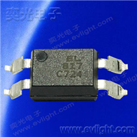 EL817S2(C)(TU)-FG长爬电距离的无卤的贴片光耦规格编码说明